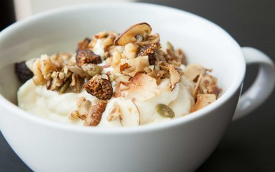 Mango Pineapple Delight with Hippie Granola Healthy Bowl recipe!