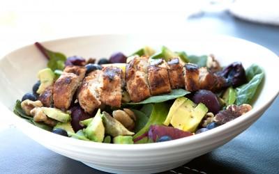 Cherry Walnut Summer Salad recipe!