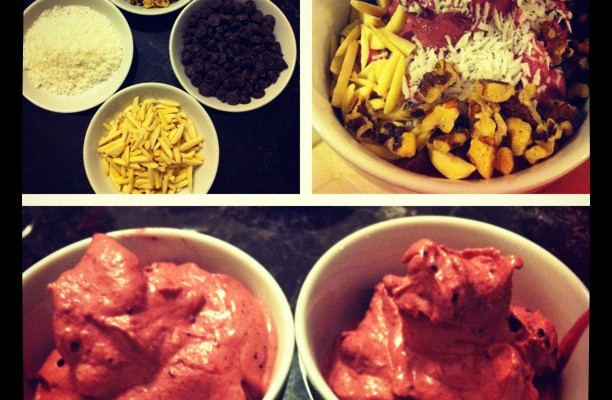 Banana Berry Ice Cream recipe!