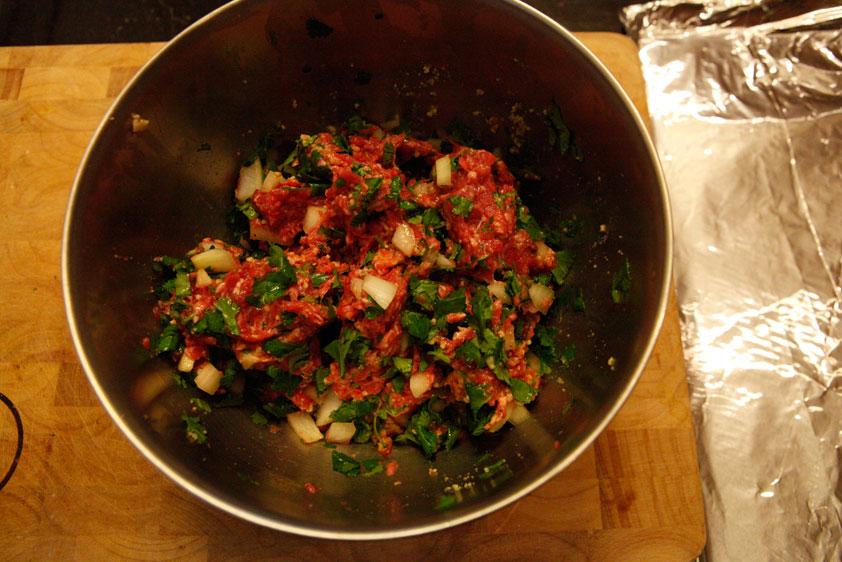 Cilantro Beef Burgers, a Paleo recipe!