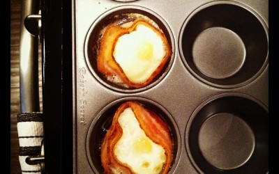 Bacon-Wrapped Eggs, a Paleo recipe!