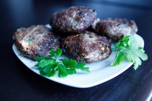 Spicy Bison Burgers, a Paleo recipe!