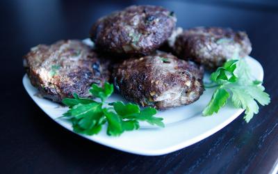 Spicy Bison Burgers, a Paleo recipe!