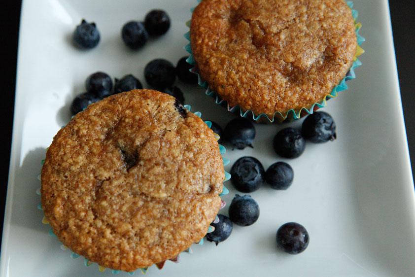 Blueberry Apple Muffins, a Paleo recipe!
