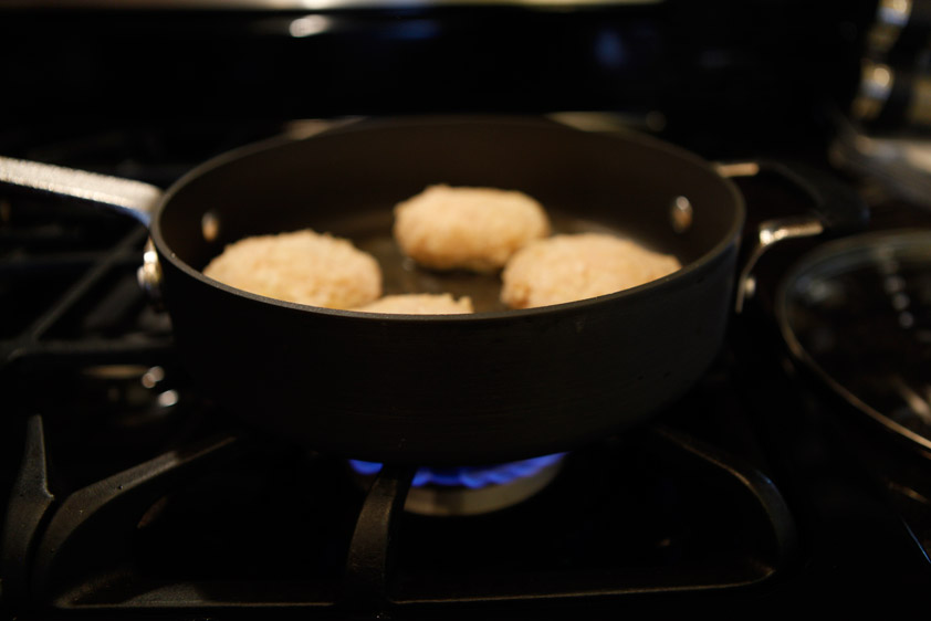 Coconut-Almond Chicken Patties, a Paleo recipe!
