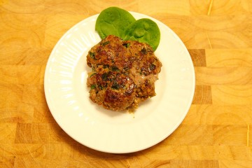 Beef & Veggie Patties, a Paleo recipe!