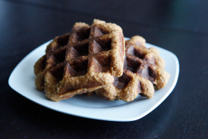 Sweet Potato Waffles, a Paleo recipe!