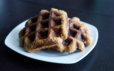 Sweet Potato Waffles, a Paleo recipe!