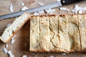 Simple Coconut Bread, a Paleo recipe!