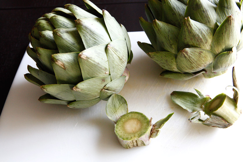 Artichoke & Dipping Sauce recipe!
