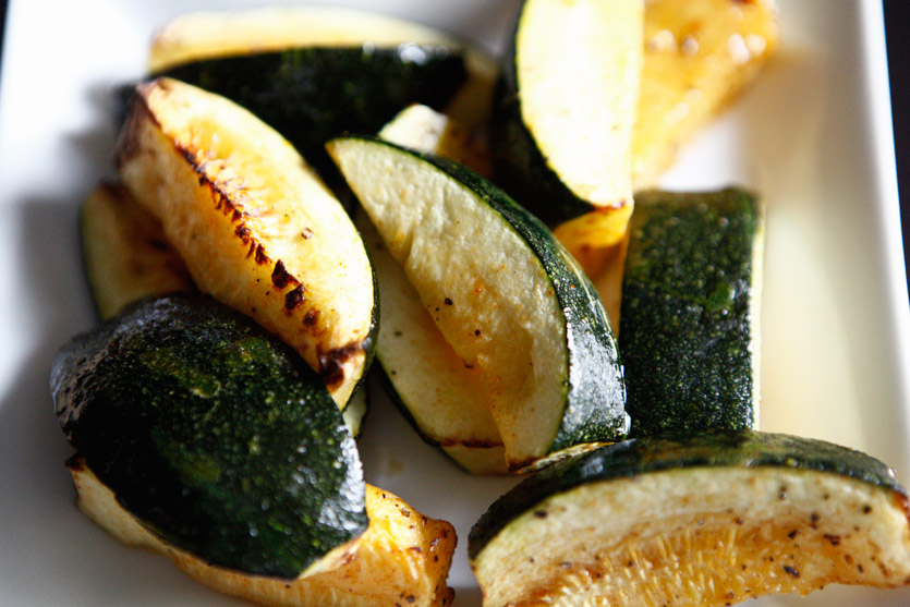 Summer Squash Wedges!