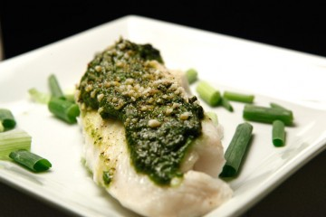 Pesto Tilapia recipe!
