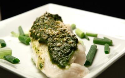 Pesto Tilapia recipe!