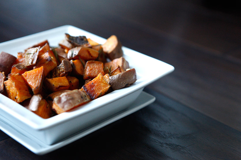 Roasted Rosemary Sweet Potatoes recipe!