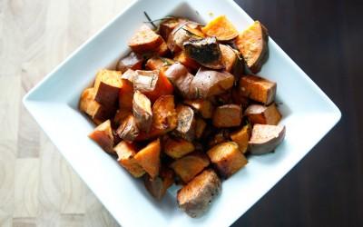 Roasted Rosemary Sweet Potatoes recipe!