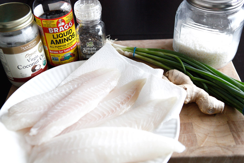 Ginger Garlic Tilapia recipe!