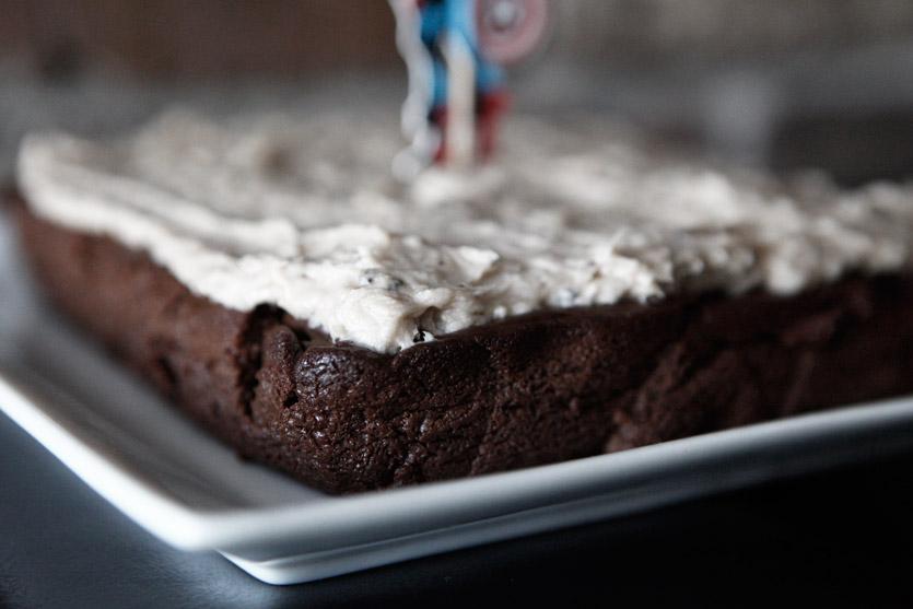 Sweet Potato Chocolate Cake & Coconut Coffee Frosting recipe!
