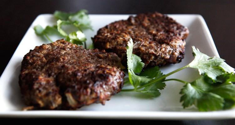Apple Mustard Beef Paleo Burgers recipe!