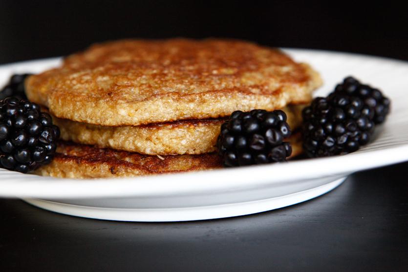 Coconut-Lemon Paleo Pancakes, a Paleo recipe!