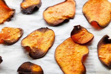 Sweet Potato Chips, easy Paleo recipe!