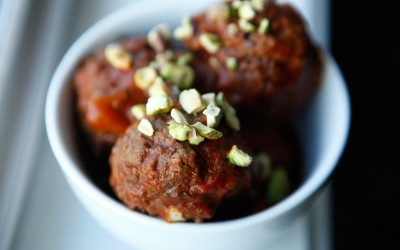 Bison Meatballs recipe!