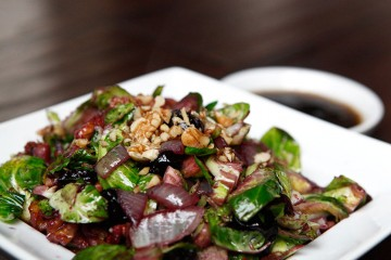 Brussels Sprouts & Sweet Cherries, a Thanksgiving Paleo recipe!