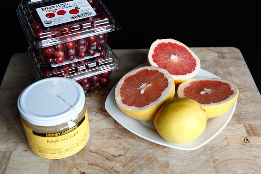 Cranberry Sauce, a Paleo recipe!