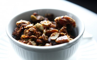 Maple-Date Paleo Granola recipe!