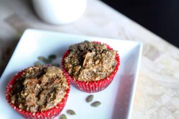 Paleo Nut-less Muffins, a Paleo recipe!