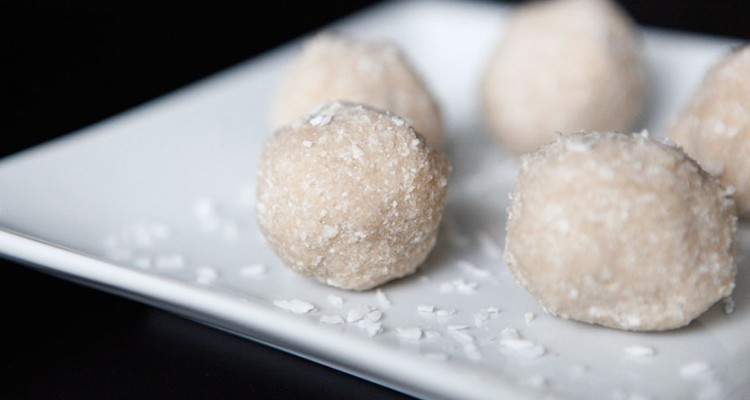 Coconut Treats, a great Christmas Paleo recipe!