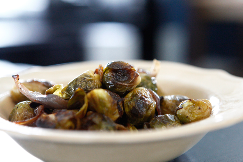 Roasted Brussels Sprouts recipe!