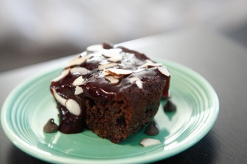 Blueberry Brownies with Very Berry Sauce recipe!