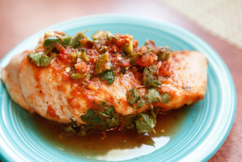 Salsa-Lime Chicken recipe!