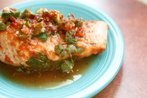 Salsa-Lime Chicken recipe!