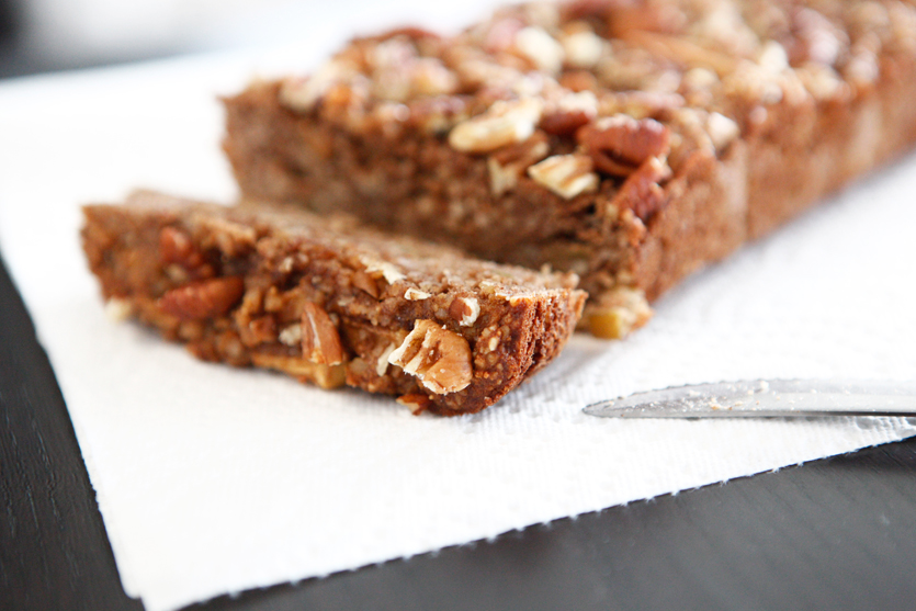 Apple Cinnamon Paleo Bread recipe!