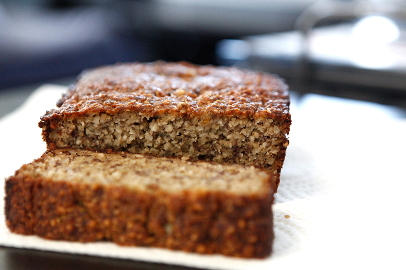 Nutty Banana Bread recipe!