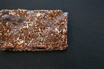 Chocolate Date Granola Bar recipe!