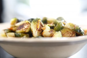 Orange-Maple Glazed Brussels Sprouts recipe!