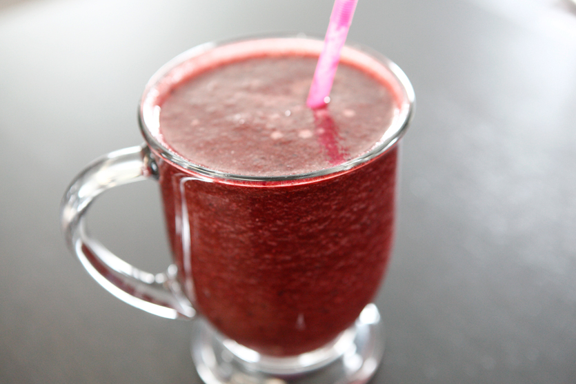 Apple Cherry Smoothie recipe!