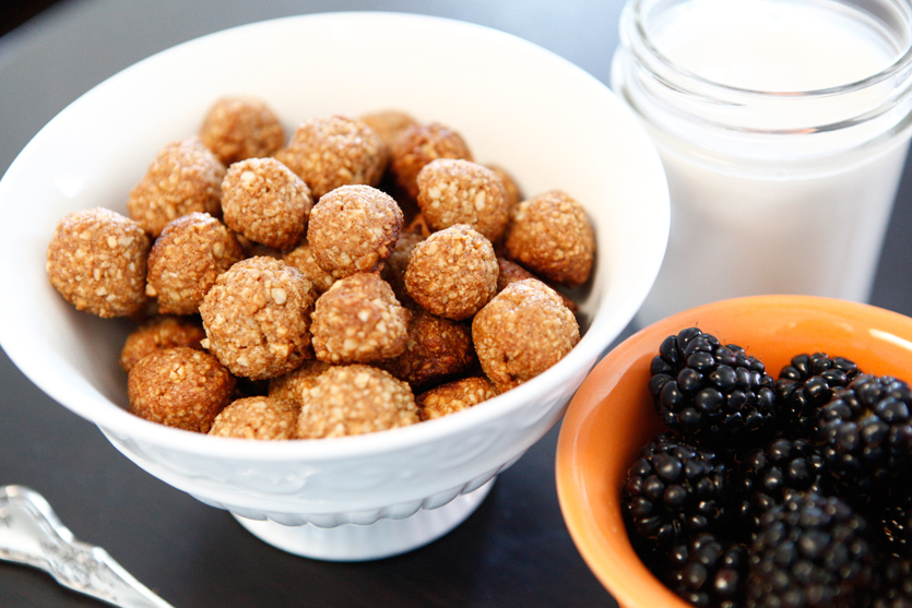 Coconut-Sugar Cinnamon Puffs recipe!