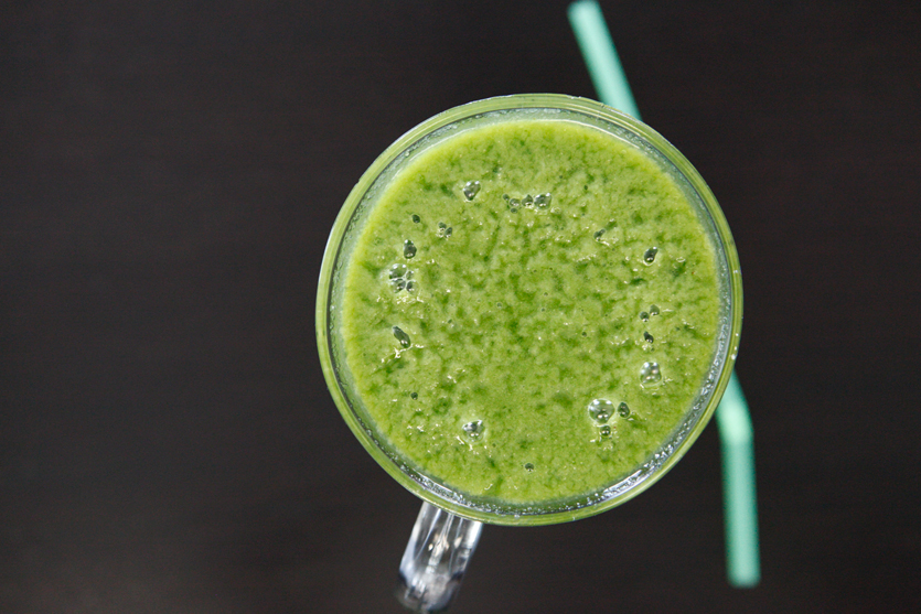 Green Monster Smoothie recipe!