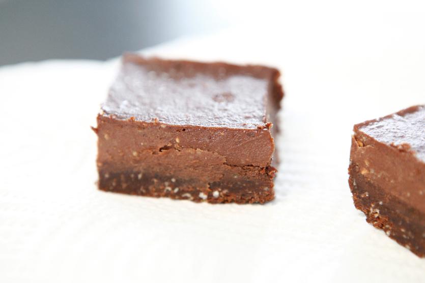 RAW Chocolate & Raspberry Bars Paleo recipe!