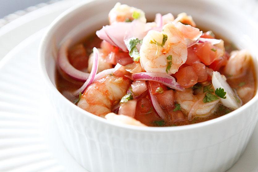 Ecuadorian Shrimp Ceviche recipe!