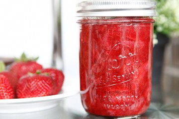 Strawberry Rhubarb Sauce recipe!