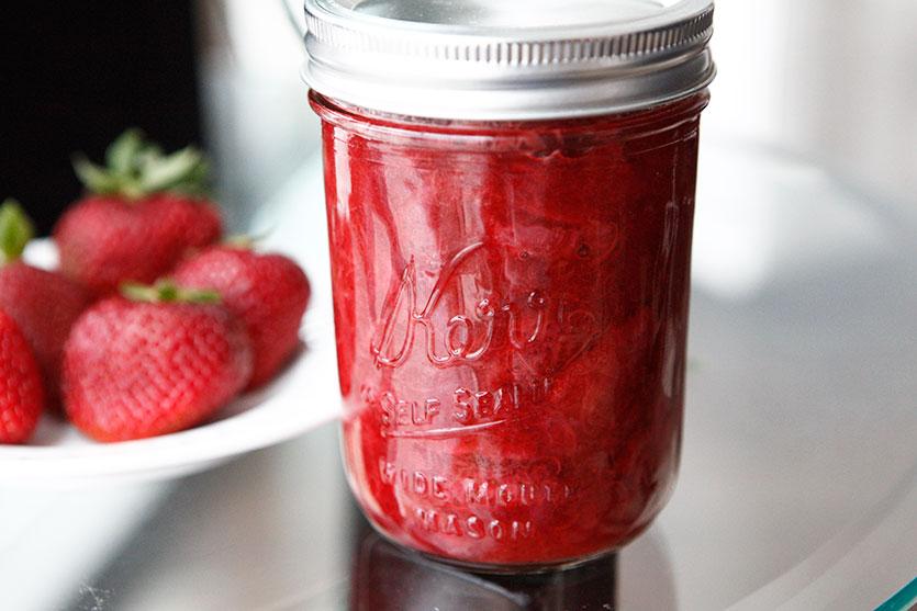 Strawberry Rhubarb Sauce recipe!