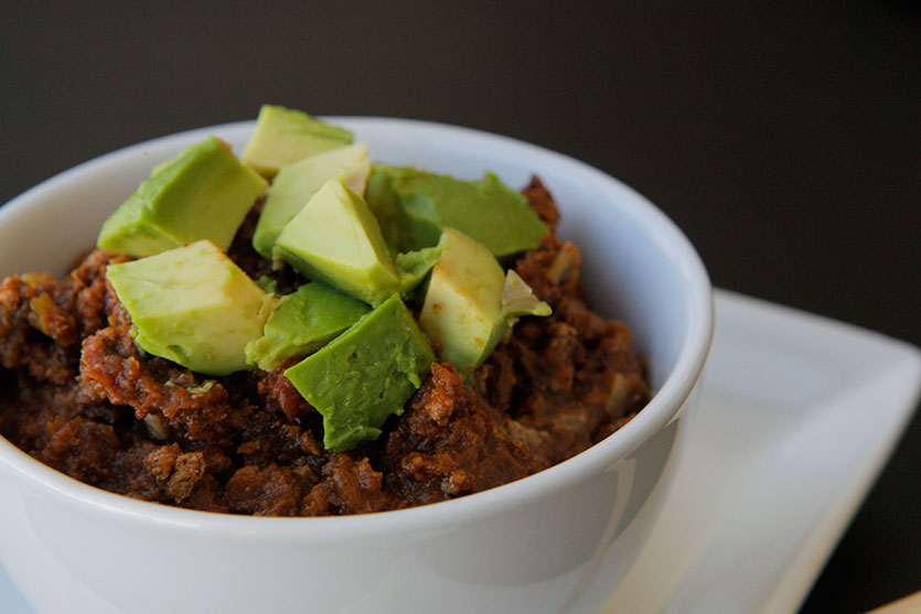Paleo Crockpot Turkey & Pumpkin Chili recipe!