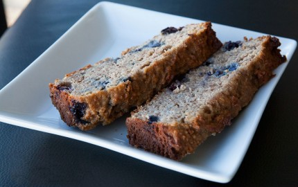 Paleo Banana Bread with Blueberries recipe!