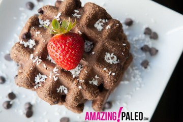 Paleo Chocolate Chip Waffles!