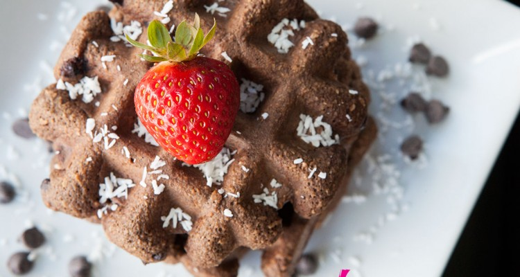 Paleo Chocolate Chip Waffles!