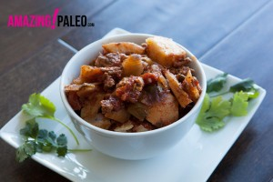 Paleo Slow Cooked Turkey & Sweet Potato recipe!